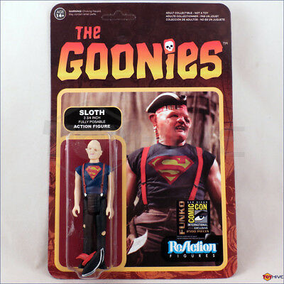 The Goonies - Sloth in Superman Shirt SDCC Exclusive Funko ReAction 3.75