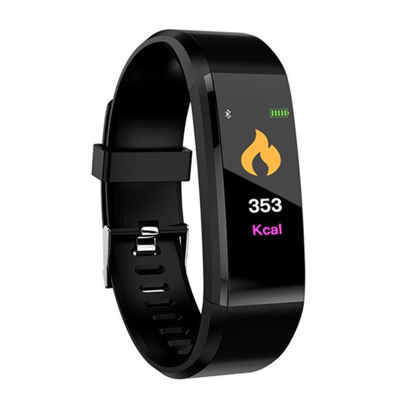 Smart BraceletWristband WatchHeart Rate MonitorFitness TrackerBlood Pressure