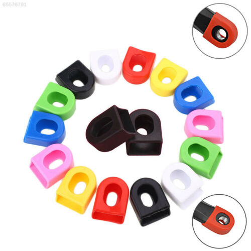 1 Pair Bicycle Crank Covers Silicone MTB Bike Crankset Protector Arm Sleeve
