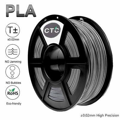 3d Printer Filament Pla 1.75mm For Reprap Makerbot Print Grey Colors
