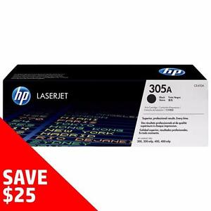 Buy Direct from HP and SAVE! - Original HP Toner 305A