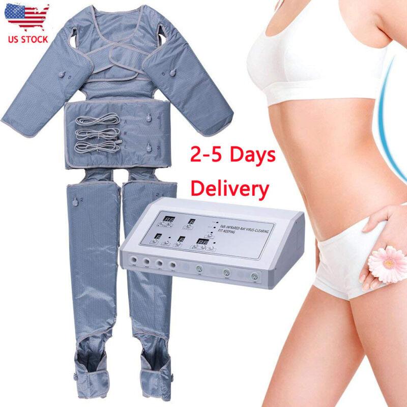 Pressotherapy Machine Slimming Detox Weight Loss Massage APPARATUS Blanket US