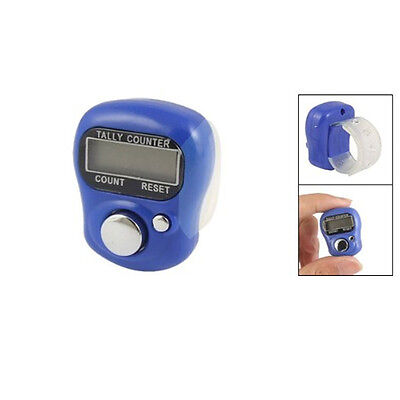 Us Lcd Electronic Digit Digital Golf Finger Hand Ring Knitting Row Tally Counter