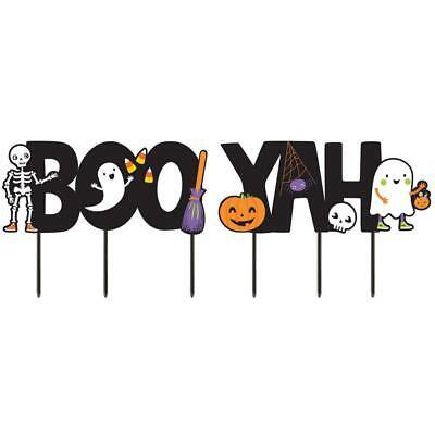 Amscan Halloween Boo-Yah Yard Signs
