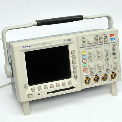 Tektronix Tds3014 Digital Phosphor Oscilloscope 4 Channels 100mhz Very Dim