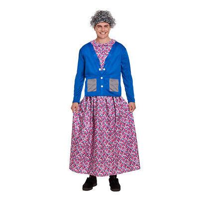 Ladies Flasher Adults Naughty Lady Nun Grandma Fancy Dress Costume (One - Flasher Costumes