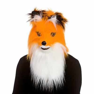 Fox Maske Mit Realistische Moving Mund Erwachsene Neuheit Kostüm Herren Damen