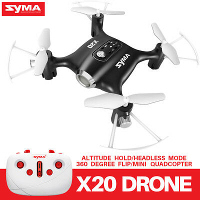 Syma Mini X20 Nano 2.4G 4CH Headless RC Quadcopter X21 Pocket 6-Axis Gyro Drone