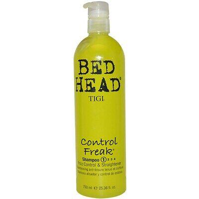 Tigi Bed Head Control Freak Shampoo 1 Frizz control & Straightener (Bed Head Control Freak Frizz Control Straightener)