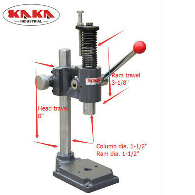 Kaka Industrial Ap-2s Arbor Press 2-ton Adjust Press Height Jewelry Tools