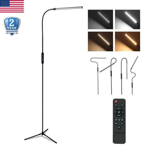 Modern Adjustable Floor Lamp Standing LED 10W Dimmable 5 Bri