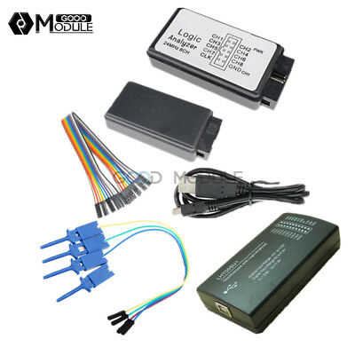 24mhz Logic Analyzer Lht00su1 Virtual Oscilloscope Usb Device I2c Spi For M100