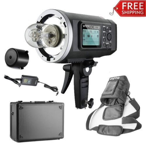 Godox Portable AD600B TTL All-in-one HSS 600W 2.4G 1/8000 Strobe Flash Light