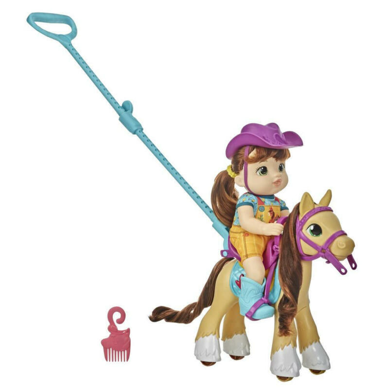 Littles by Baby Alive, Lil' Pony Ride, Little Mandy Doll and Pony with