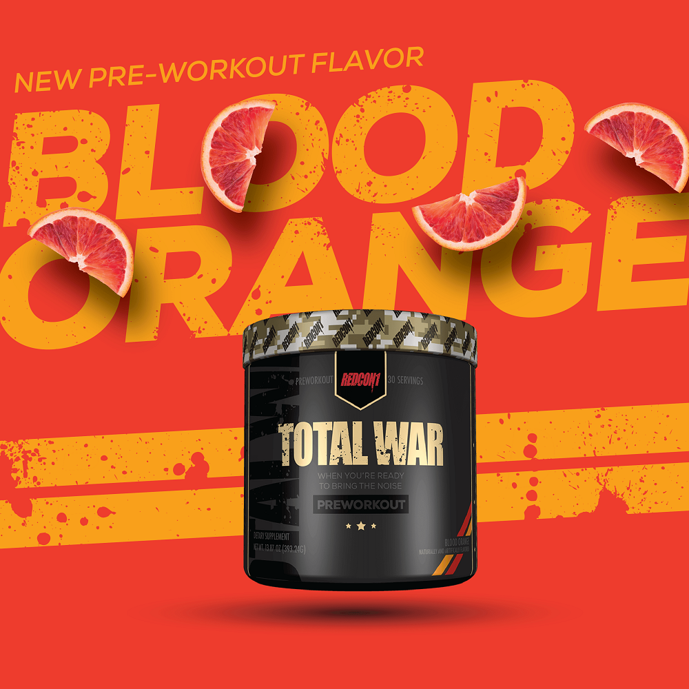 total war pre workout 30 servings blood