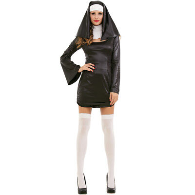 Sinful Sister Nun Sexy Adult Women's Costume