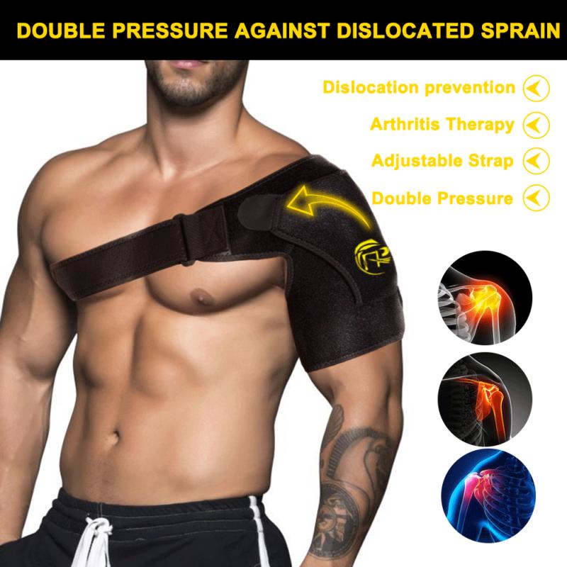 Shoulder Brace Rotator Cuff Support Strap Adjustable Belt Sl