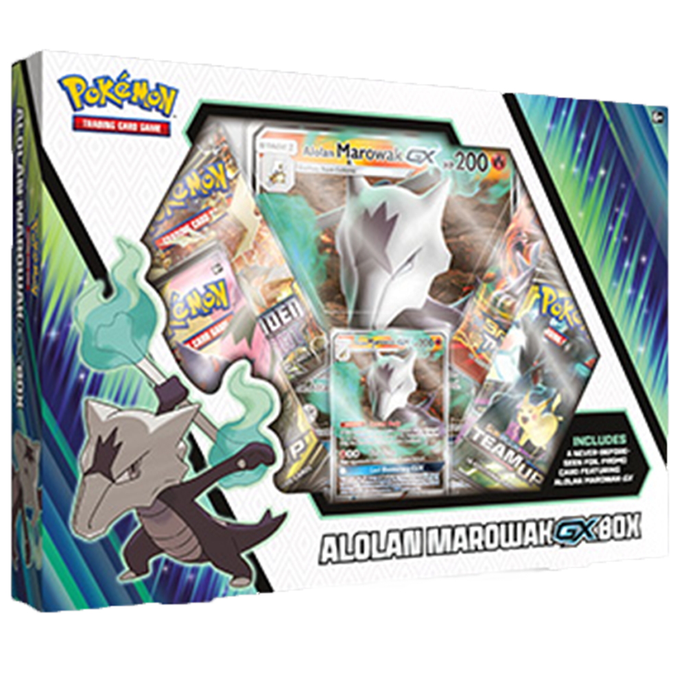 Pokemon TCG Alolan Marowak GX Box Brand New And Sealed!