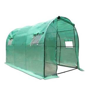 NEW FREE SHIPPING - Greenhouse with Green PE Cover - 3M x 2M Silverwater Auburn Area Preview