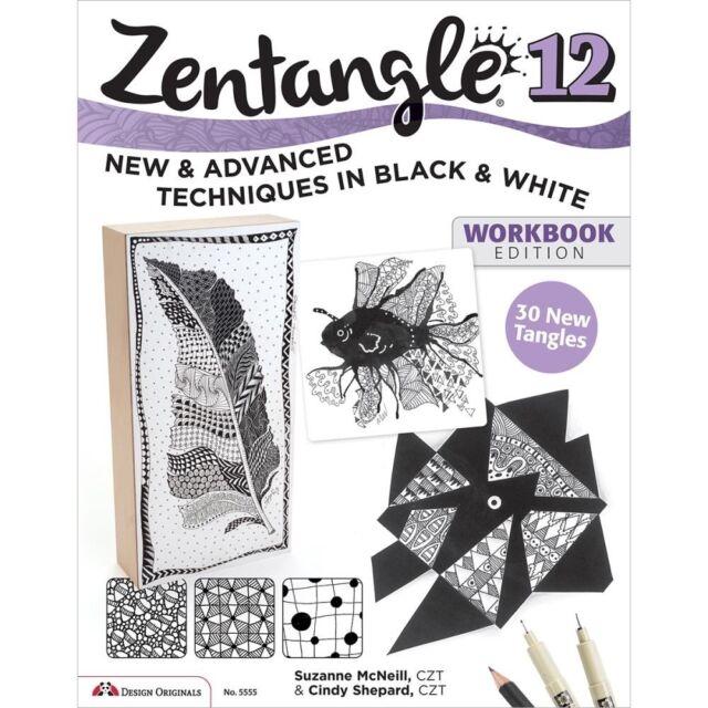 Design Originals -Zentangle 12 Workbook Edition