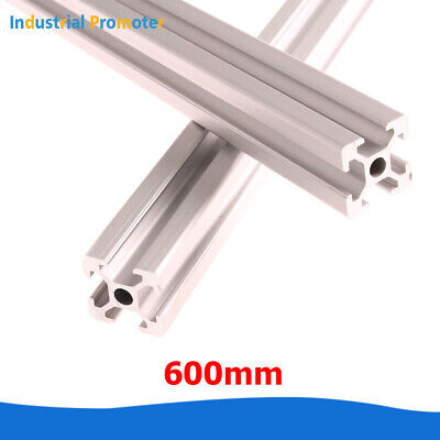 2pcs 2020 T-slot Aluminum Extrusion Profile 600mm For Cnc 3d Printer 20mm X 20mm