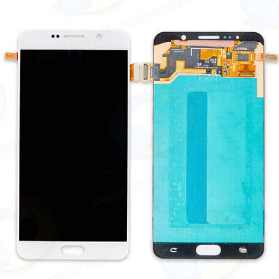 For Samsung Galaxy Note 5 LCD Splendour Touch Screen Digitizer Assembly WHITE