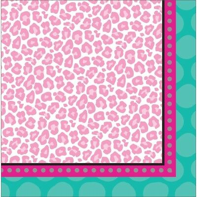 Sparkle Spa Birthday Party 16 Ct Lunch Luncheon Napkins