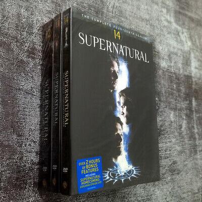 Supernatural Season 12-14 12 13 14 (DVD 16-Disc) Brand new Ships Priority Mail