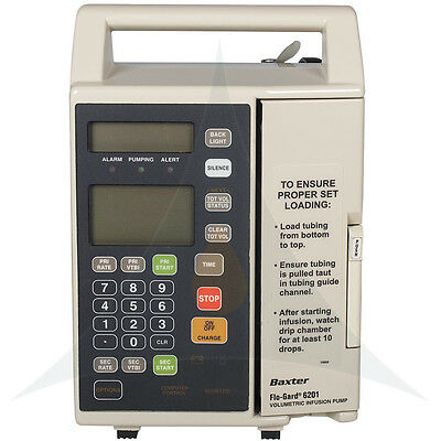 BAXTER Flo-Gard 6201 IV Infusion Pump