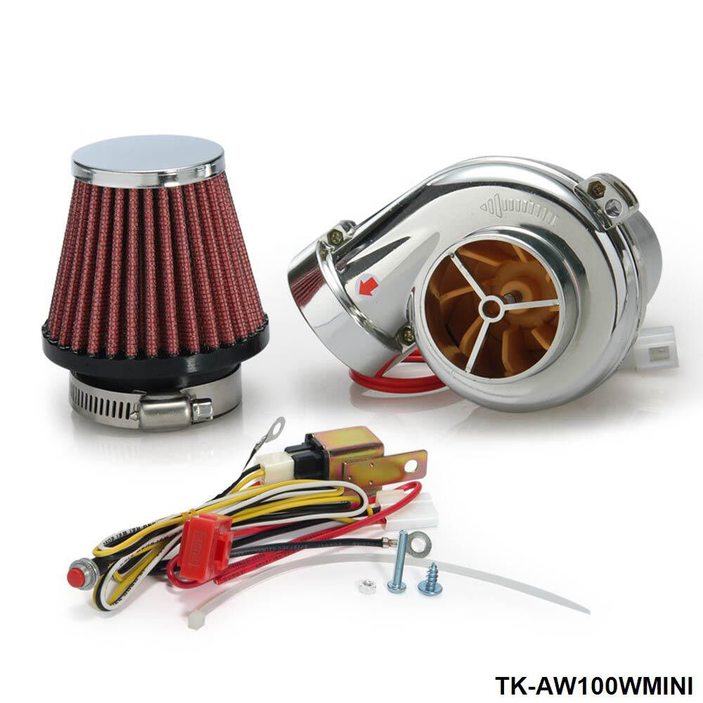 Electric Turbochargers: Turbo Mini Electric Turbo Supercharger Kit Air Filter