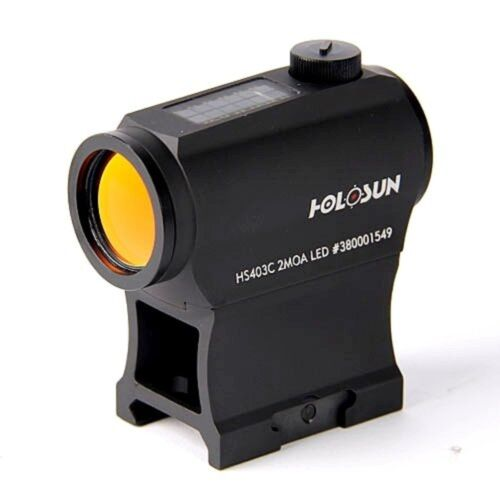 Holosun Technologies HS403C Solar Power 2 MOA Red Dot Sight