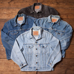 mens womens levis levi vintage grade a denim trucker jacket xs s m l xl xxl ebay. Black Bedroom Furniture Sets. Home Design Ideas