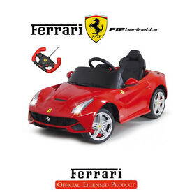 Licensed Ferrari F12 6V Electric Kids Ride on Car with Remote - Red