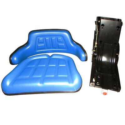Blue Universal Tractor Seat Fits Ford Ford Holland Universal Universal Products