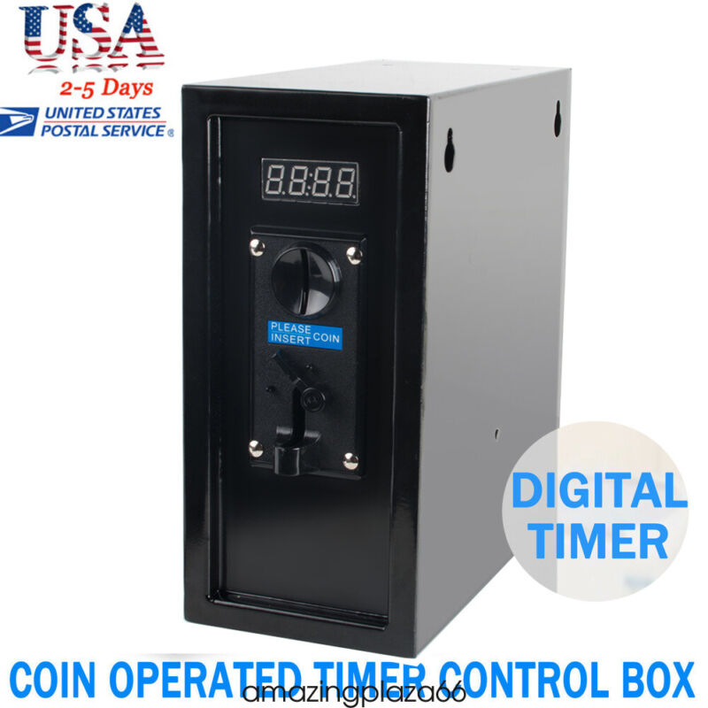 Coin Operated Timer Control Power Supply box to Control electronicl device Easy