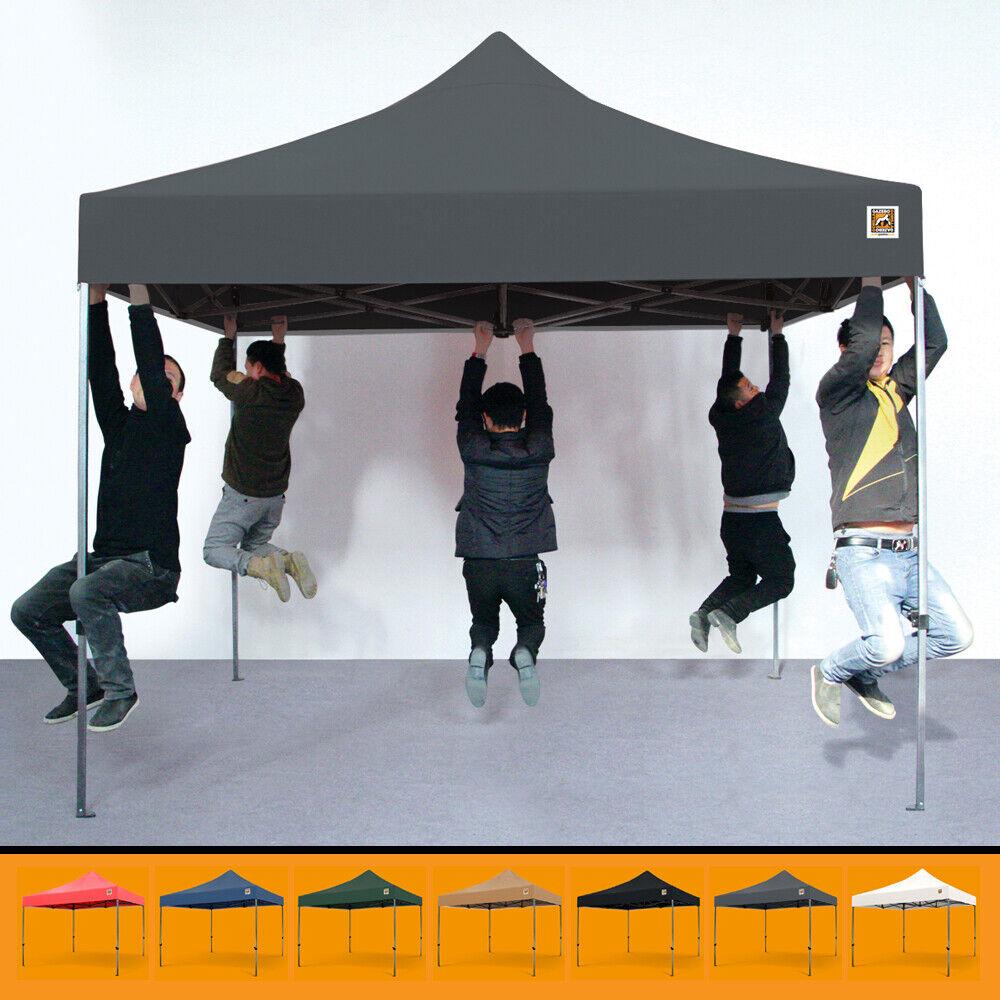 GORILLA GAZEBO ® Pop Up 3x3m Heavy Duty Waterproof Commercial Grade with Canopy