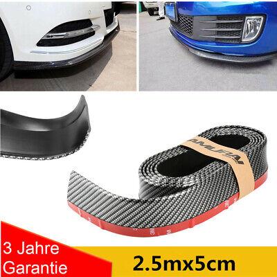 Front Spoiler Lippe Seiten Schweller universal flexibel 2,5mx5cm Carbon viele DE
