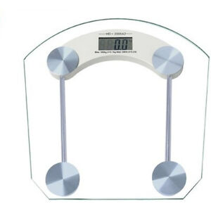 Square Digital Glass Weighing Scale Personal Body Weigh Scale Weight Machine available at Ebay for Rs.490