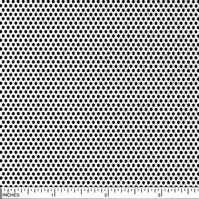 304 Stainless Steel Perforated Sheet .030 X 24 X 24 Hole Size 116