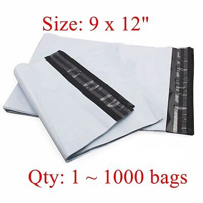 9 X 12 Poly Mailer Shipping Bags 2.35 Mil 25 50 200 100 300 500 800 1000