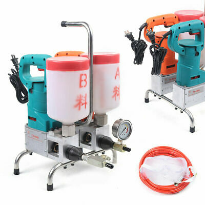 Piston Pump Grouting Steel Machine Electric Epoxy Injection High Efficiency1.5kw