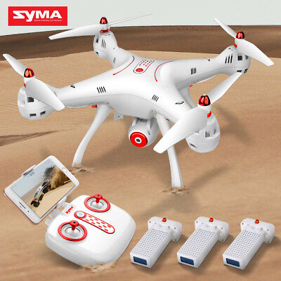 Syma X8SW 2.4G 4CH 6Axis Gyro Drone FPV Wifi Real Time HD Camera RC Quadcopter