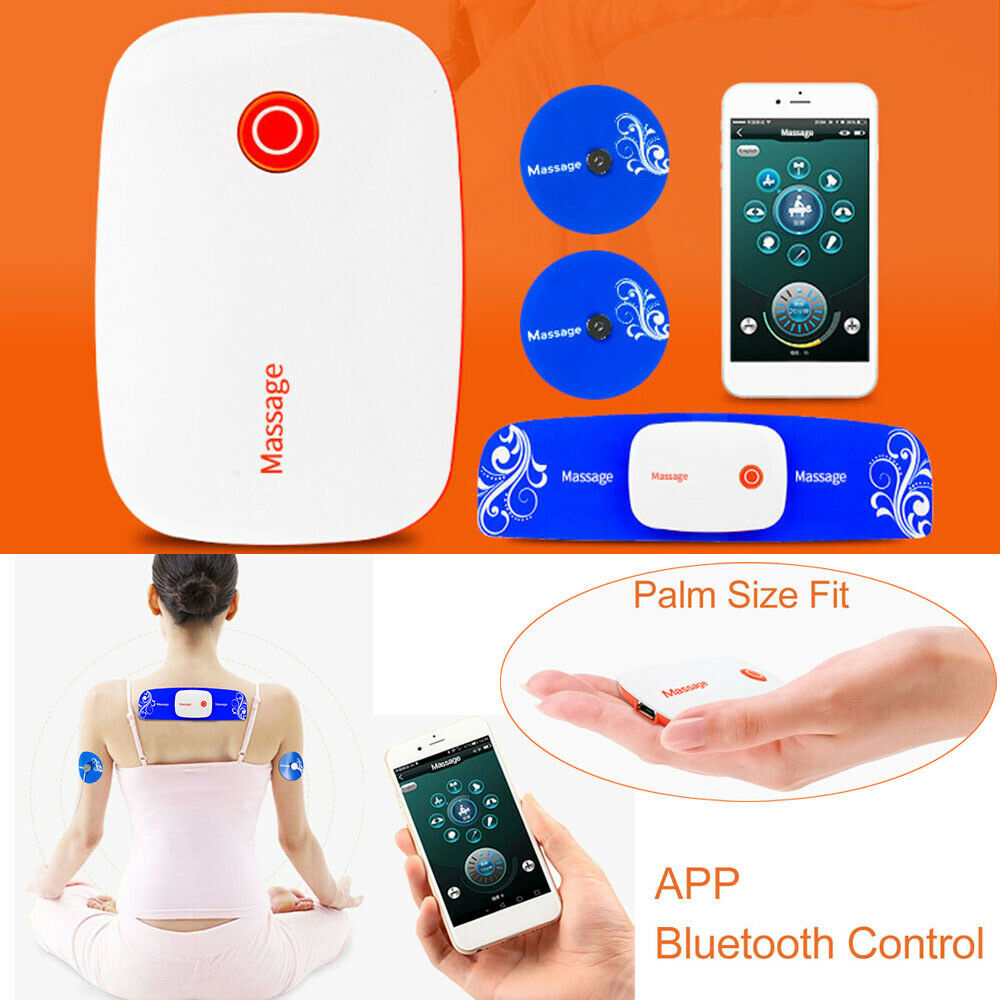 SMILE.STORE USB Charging Portable Electric Foot Massager Portable EMS Training Device Relieving Foot Pain and Muscle Relaxation Home Office EMS Foot Massager Circulation Stimulator Massagegeräte & Elektrostimulatoren Fitness