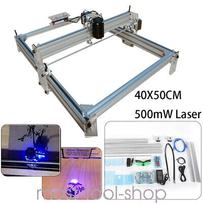 Cnc Router Mini Laser Engraver Diy Wood Milling Drill Carving Machine Kit 500mw