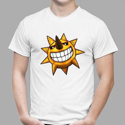 New Soul Eater *Sun Icon Anime Cartoon Men's White T-Shirt Size S - 3XL