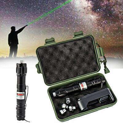 10miles Green 1MW 532NM Laser Pointer Pen Lazer Light Visible Beam Adjust Boxed