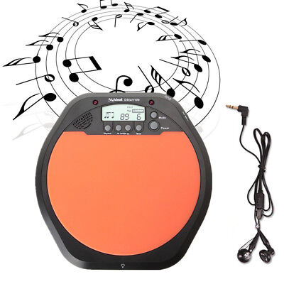 Digital Electric Electronic Drum Pad for Training Practice Metronome Xmas Gfits