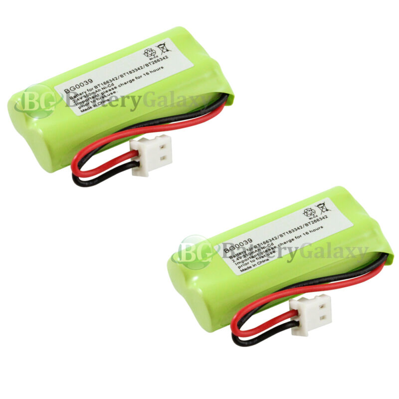 2 Phone Battery for VTech BT162342 BT262342 2SNAAA70HSX2F BATT-E30025CL 500+SOLD