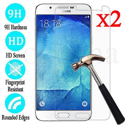 2X Tempered Glass Screen Protector For Samsung Galaxy J3 J5 J7 Pro J4 J6 J8 2018