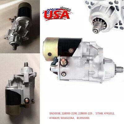 Starter for Dodge Ram 5.9L Cummins Turbo Diesel I6 1994-2002 2001 228000-2290